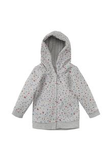Жакет Sweatjacke mit Schmetterlings-Print
